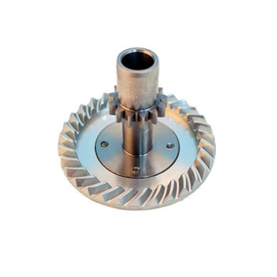 Smooth Gear Aluminum Machine Cut